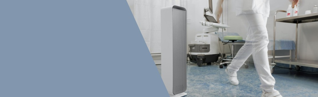 Air flow disinfection